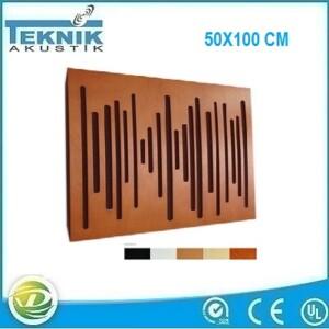 Ahşap akustik diffuser panel
