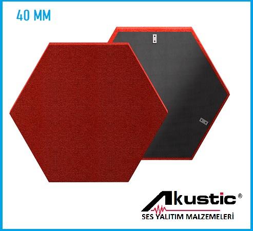 Altıgen Akustik Panel 40 MM