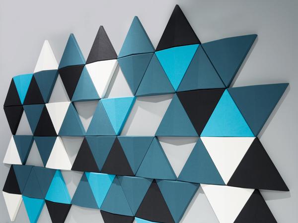3D kumaş kaplı duvar panelleri