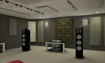Sinema salonları akustik ses yalıtımı akustik çözümler